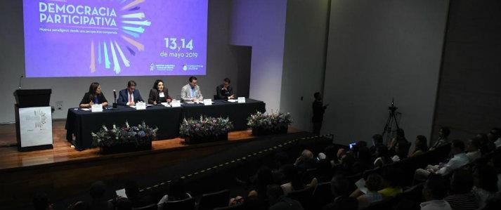 ONPE participa en México en seminario internacional sobre democracia participativa