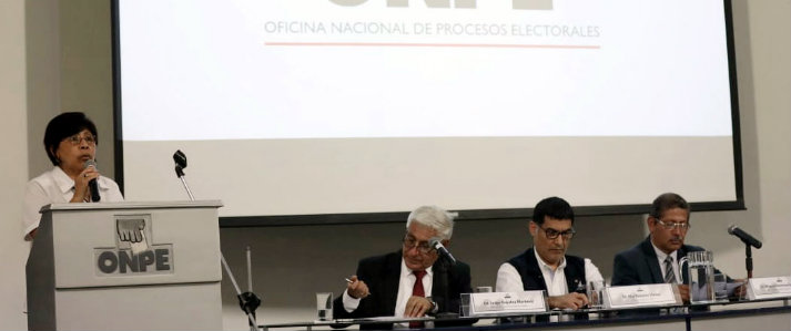 ONPE presentó red de bibliotecas entre organismos electorales