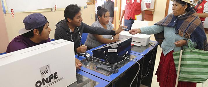 Elecciones Congresales 2020: ONPE aplicará el voto electrónico presencial en 39 distritos del país