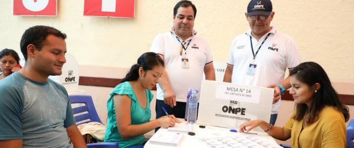 ONPE asiste técnicamente a más de 6 mil nutricionistas para elegir representantes