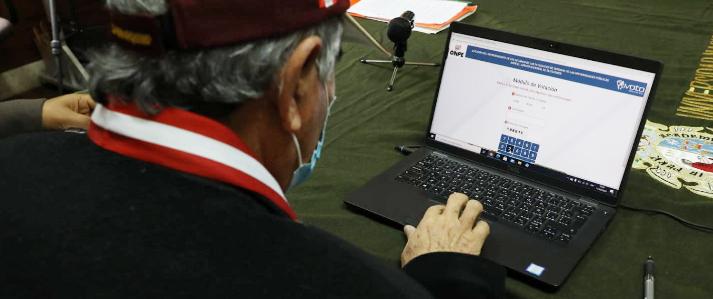 Eligen miembro del pleno del JNE con Voto Electrónico No Presencial de la ONPE
