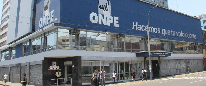ONPE amplía atención del 18 al 21 de enero para recepción de reportes de campaña
