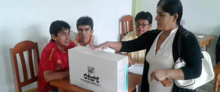 ONPE dio asistencia técnica a movimiento regional para comicios internos de candidatos