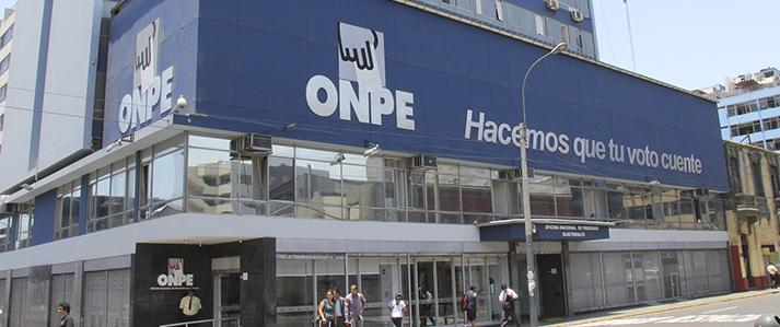 ONPE no brinda asistencia técnica a las Elecciones del Colegio de Abogados de Lima
