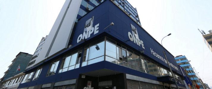 ONPE informa que está prohibido el uso indebido del logo institucional