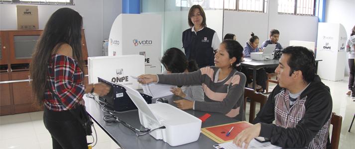 Voto Electrónico permitió entregar en menos de una hora resultados de elección en San Marcos