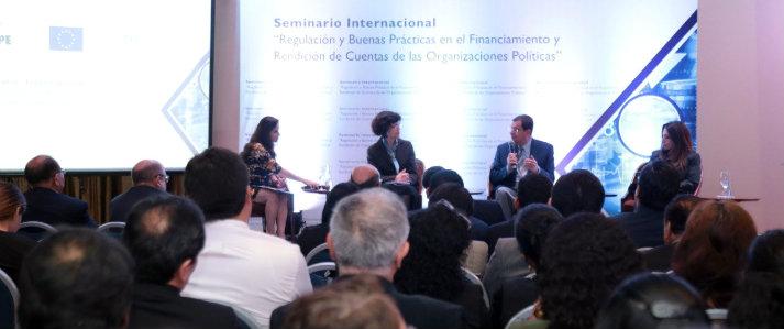 Piden fortalecer fiscalización del financiamiento de las organizaciones políticas