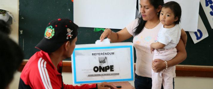 OEA destaca realización de Referéndum en el Perú