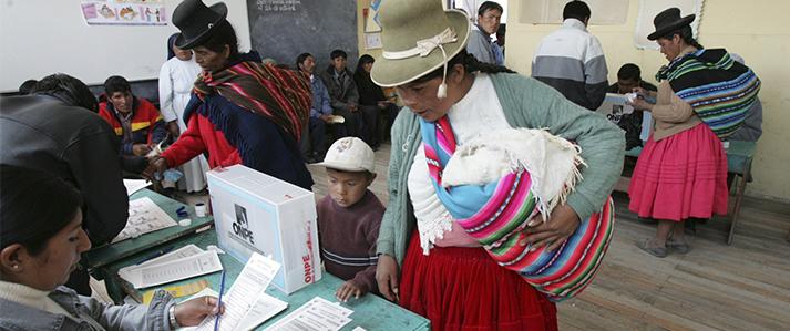 ONPE capacita a comités electorales de centros poblados en Cajamarca