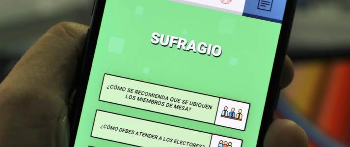 Elecciones Congresales 2020: ONPE crea app de capacitación para miembros de mesa