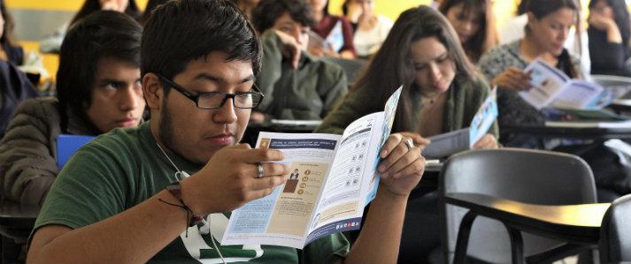 ONPE preparó a jóvenes universitarios sobre referéndum