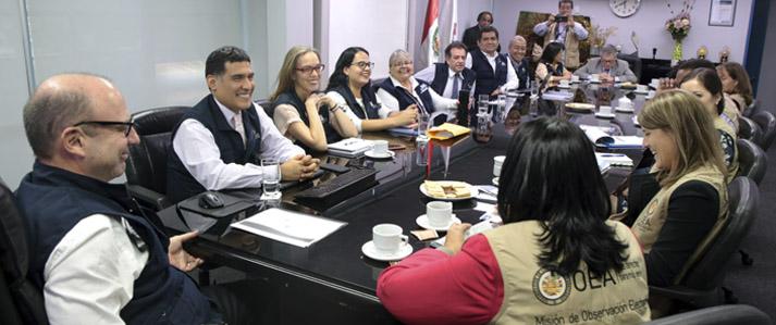 ONPE ratifica neutralidad y transparencia en organización y ejecución del referéndum