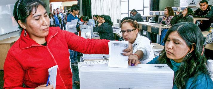 Más de 24 millones de peruanos votarían en referéndum