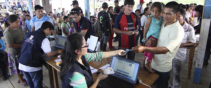 Centros Poblados podrán solicitar instalación de mesas de sufragio hasta el 20 de noviembre