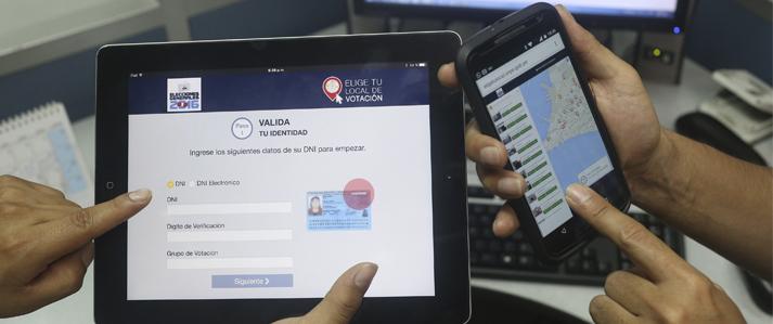Electores de todo el país podrán elegir su local de votación, adelanta la ONPE