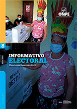 Informativo Electoral n.° 8 - Elecciones Generales 2021