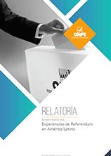 Relatoría. Seminario Internacional: Experiencias de Referéndum en América Latina